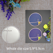 New Design Circle Metal Cutting Dies Candle Carbon steel  Scrapbooking Stencils Paper Card Handicrafts new fashion gift craft