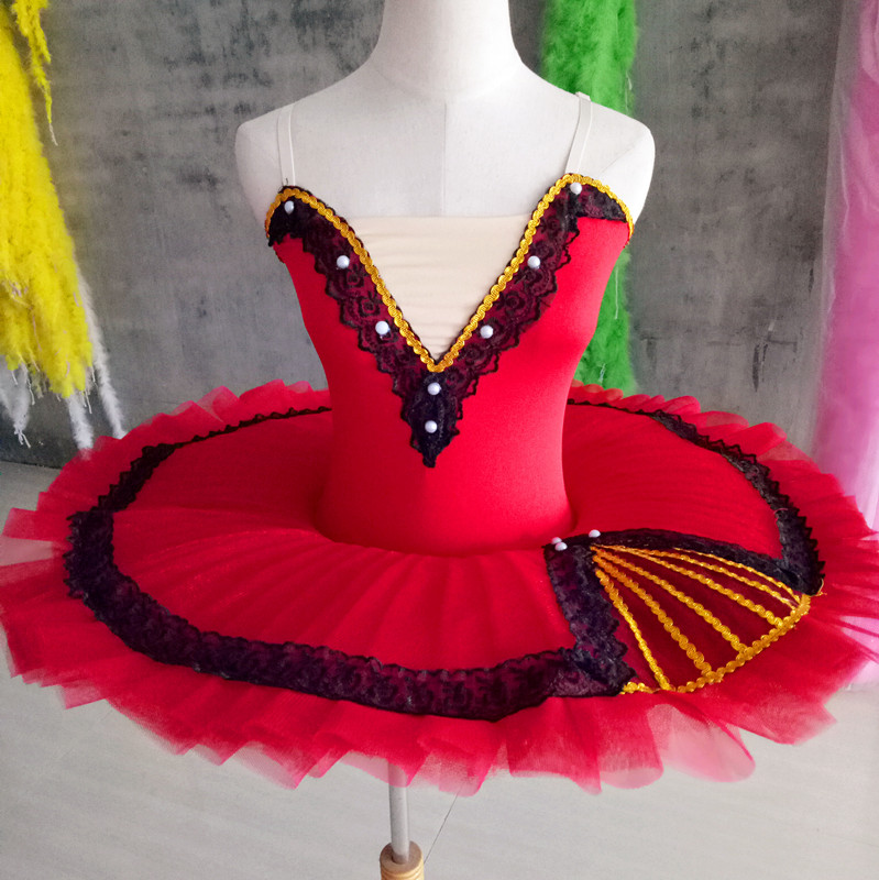 Stage & Dance Wear Loyal Hot Red Sequins Ballet Dancewear For 80-150cm Children Kids Lovely Ballet Costume Girl Stage Training Dancing Ballerina Dresses