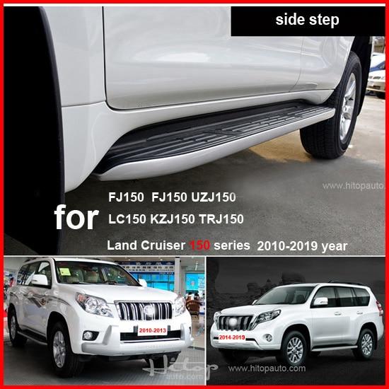 Hot side step nerf bar papan berjalan untuk Toyota Land Cruiser Prado - Suku cadang mobil - Foto 3