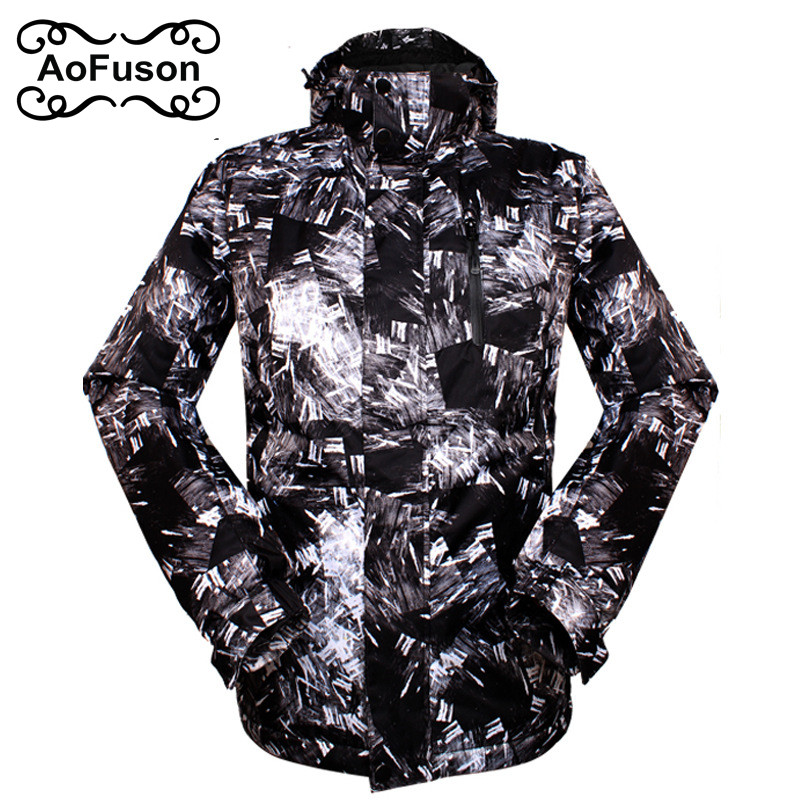 2018 New Brand Ski Jacket Men Waterproof Thermal Winter Climbing Snow Jacket Coat For Outdoor Mountain Skiing Snowboard Jackets 2017 outdoor 3in1 ski jacket women waterproof winter warm fleece snow jacket thermal coat female sports skiing snowboard jackets