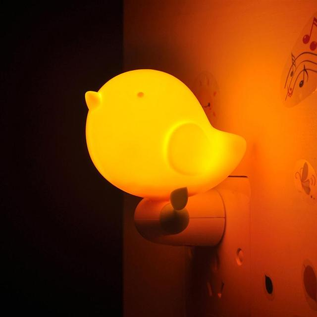 Led intelligent bird plug in children nightlight us plug night light led intelligent bird plug in children nightlight us plug night light sensor switch control jungle bird mozeypictures Choice Image
