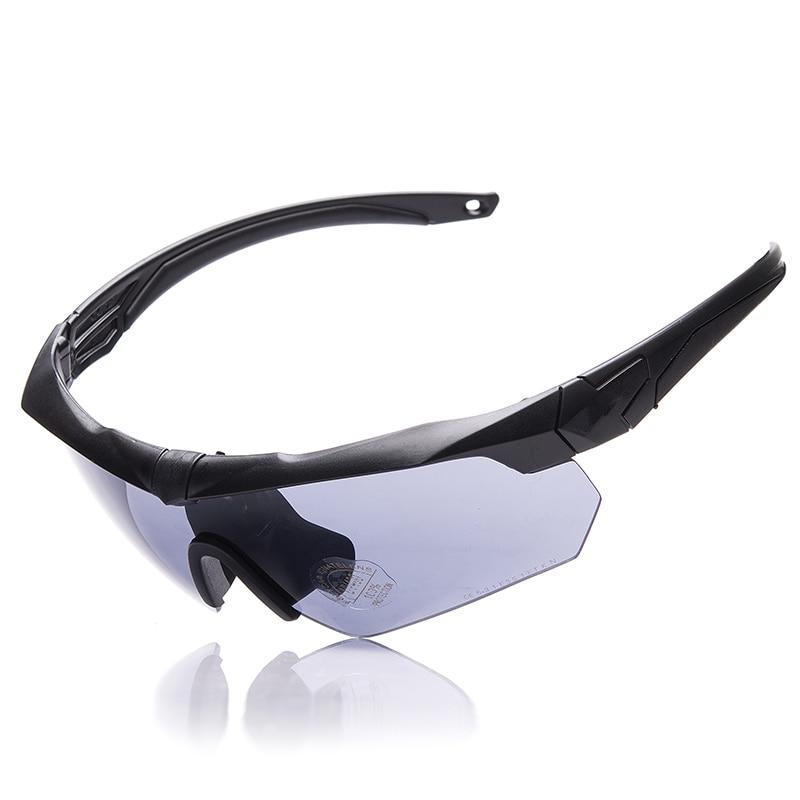 Gafas militares TR90 5 lentes polarizadas balístico Deporte Militar hombres  gafas de sol ejército a prueba de balas gafas de tiro a0a9643d241a