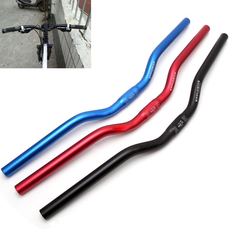 25.4mm 62cm Aluminum alloy Bicycle Handlebar Durable Riser Bar MTB Bicycle Road Bike Mountain Handlebar Parts