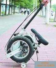В США Canad Северной Америки бесплатно! Самый маленький складной велосипед 12 дюймов/складной велосипед, очень специальный подарок, белый/сини...