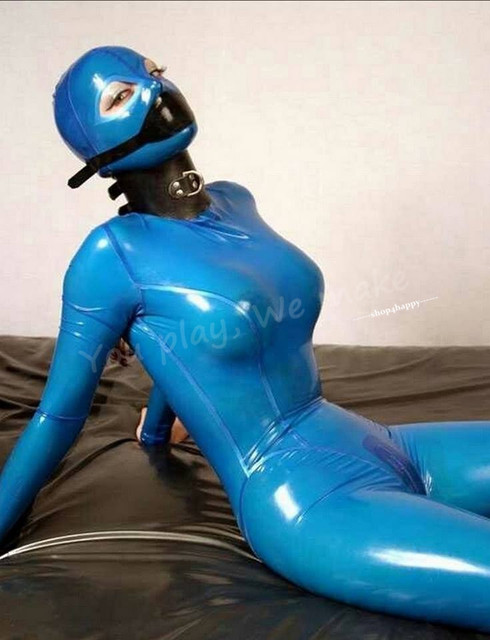 Latex Fullbody Catsuit Without The Neck Corset Latex