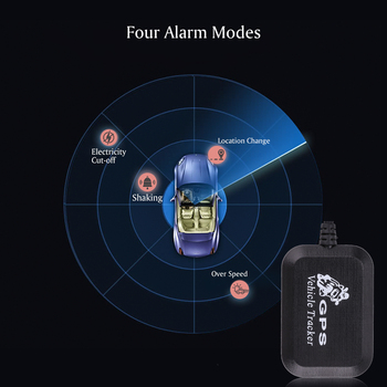 Auto Car GPS Tracker GPRS LBS GSM SMS GPS Device Trackers Over-speed Shaking Alarm Phone Computer Real Time Network Tracking
