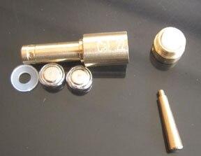 Лазерный BoreSight-картридж небольшого размера. 22