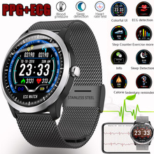 Bluetooth Smartwatch ECG+PPG Smart Wristband with Electrocardiograph Display Holter Heart Rate Monitor Blood Pressure Pedometer abpm50 24 hours ambulatory blood pressure monitor holter abpm holter bp monitor with software contec