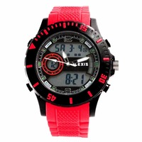 Alexis aw401a datum alarm backlight black bezel waterdicht unisex analoge digitale horloge