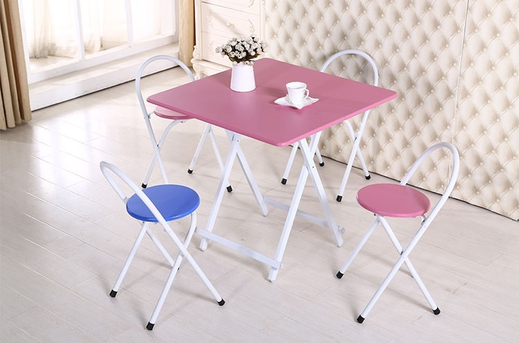 bar folding stool mini PVC MDF chair living room chair stool retail wholesale free shipping living room chair dining room stool folding cloth seat household chair free shipping