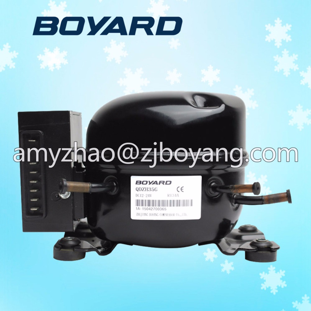 dc 12volt refrigerator compressor BD35F for mini travel refrigerator маяк findme f2 volt