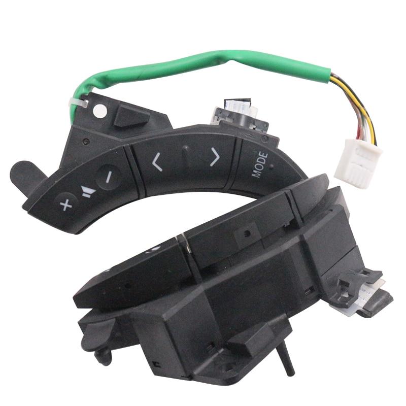 купить YAOPEI A Pair OEM 75B037 For Toyota Highlander Land Cruiser Steering Wheel Controls Switch black Color по цене 4523.24 рублей
