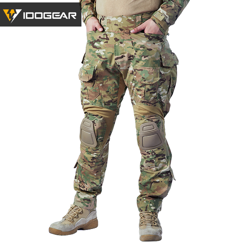 IDOGEAR G3 Pants Combat-Trousers Multicam Military Hunting Army Airsoft Bdu 3205 Winter
