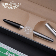 All Steel old factory genuine hero 100 steel 14K nib Classic antique teacher collection calligraphy gift box pen pimio
