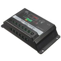 FSLH 30A MPPT Solar Panel Battery Regulator Charge Controller 12V/24V Auto