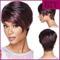 Follow Dream Mulit-Color 30cm Straight Short Wigs for Women New Fashion Handmade Heat Resistance Synthetic Wigs for Black Women