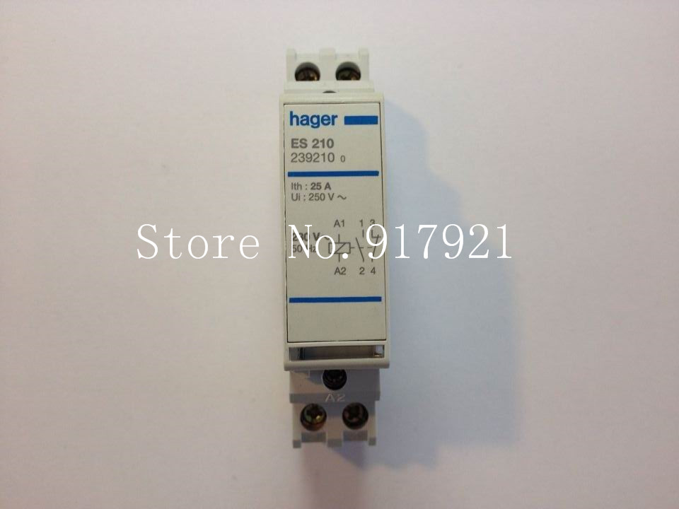[ZOB] Hagrid ES210 contactor 220V 1NO+1NC  --3pcs/lot new lp2k series contactor lp2k06015 lp2k06015md lp2 k06015md 220v dc