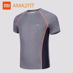 Oryginalny xiaomi mijia huaz Amazfit sport szybkoschnąca koszulka z odporny na pot w jedną stronę mokrą technologią tkaniny szybkie suche potu 2