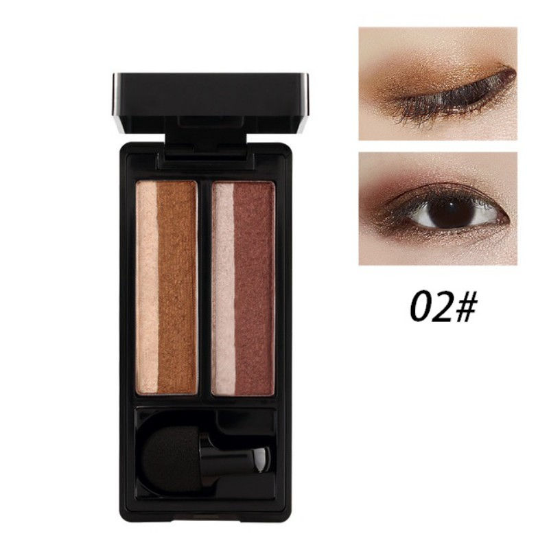 UBUB DOUBLE COLOR EYESHADOW PALETTE (8)