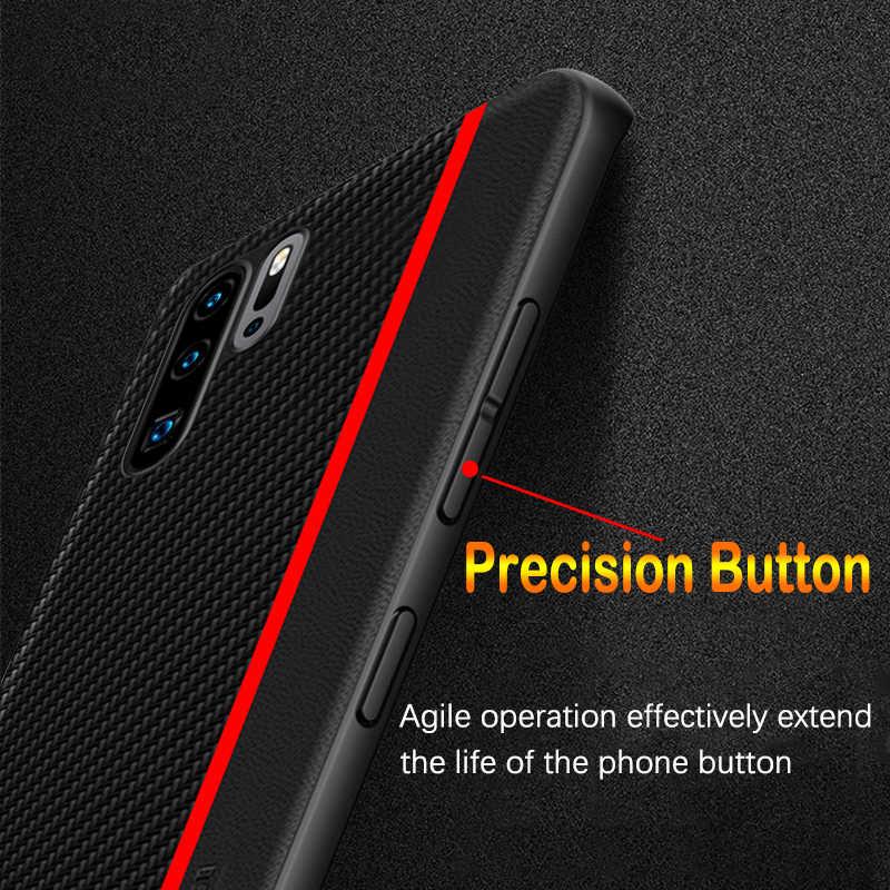 Huawei 社 P30 プロケースオリジナルカーボンファイバー Pu レザー保護カバー huawei 社 P30 P20 メイト 30 20 プロ P30 Lite のケース