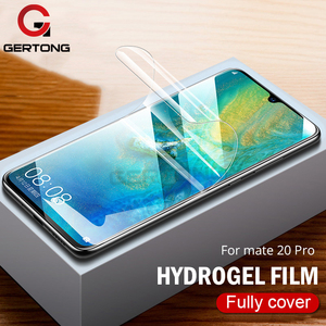 9D Full Cover Soft Hydrogel Film For Huawei Mate 20 Lite 30 Mate20 Screen Protector For Huawei Mate 20 Pro Film Tempered Glass(China)