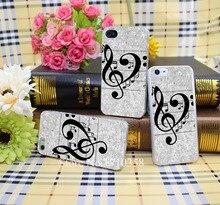 1154287N música amor Estilo Duro Casos de Telefone Transparente Capa para iPhone 7 7 Plus 5 5S 4 4S 6 mais 5c Claro