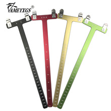 1pc Archery T Ruler L Bow And Arrow Shooting Precision Measurement Tool For Compound/Recurve Hunting Accessories
