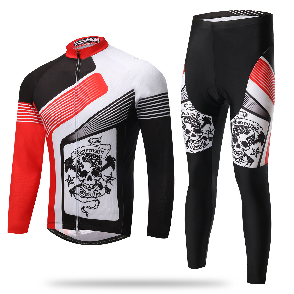 XINTOWN New Cycling Jersey Sets Promotion Item Long Sleeves Bike Wear Spring Sport Clothing Roupas De Ciclismo Mallot Hombre basecamp cycling jersey long sleeves sets spring bike wear breathable bicycle clothing riding outdoor sports sponge 3d padded