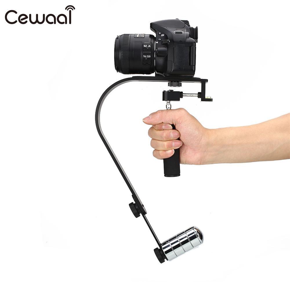 Gizcam Aluminium Alloy Camera Stabilizer Phone Stabilizer For Gopro Camera Steadicam DV Video Stabilizer Up to 1.5kg