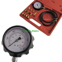 2018 New Car Wave Box Cylinder Pressure Meter Oil Pressure Tester Gauge Test Tools W/Case Drop Shipping Support