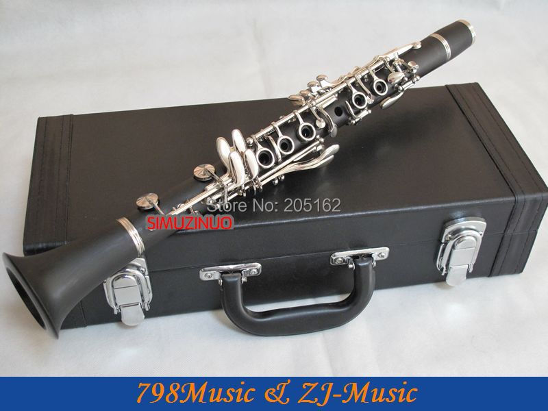 Professional High Grade Concert Rubber Eb Clarinet