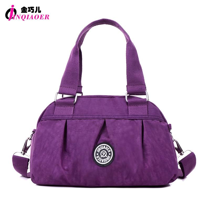 JINQIAOER Dumpling Hobos Designer Women's Handbag & Crossbody Bags Fashion Solid