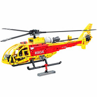 WEILE Technic Heavy Lift Helicopter Building Blocks Sets Bricks Classic Model Kids Toys For Children Gift Compatible Legoings