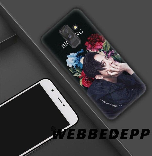 WEBBEDEPP Bigbang GD suave TPU de silicona funda para Samsung Galaxy S10 S10e S9 S8 más S7 S6 Edge y J6