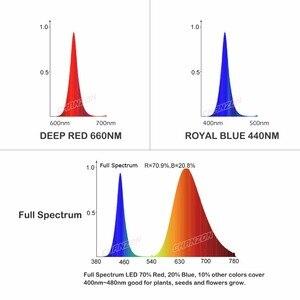 High Power LED-Chip Gesamte Spektrum Royal Blau 440nm Deep Red 660nm 1 W 3 W 5 W 10 W 20 W 30 W 50 W 100 W 660 nm für DIY Licht Anlage Wachsen