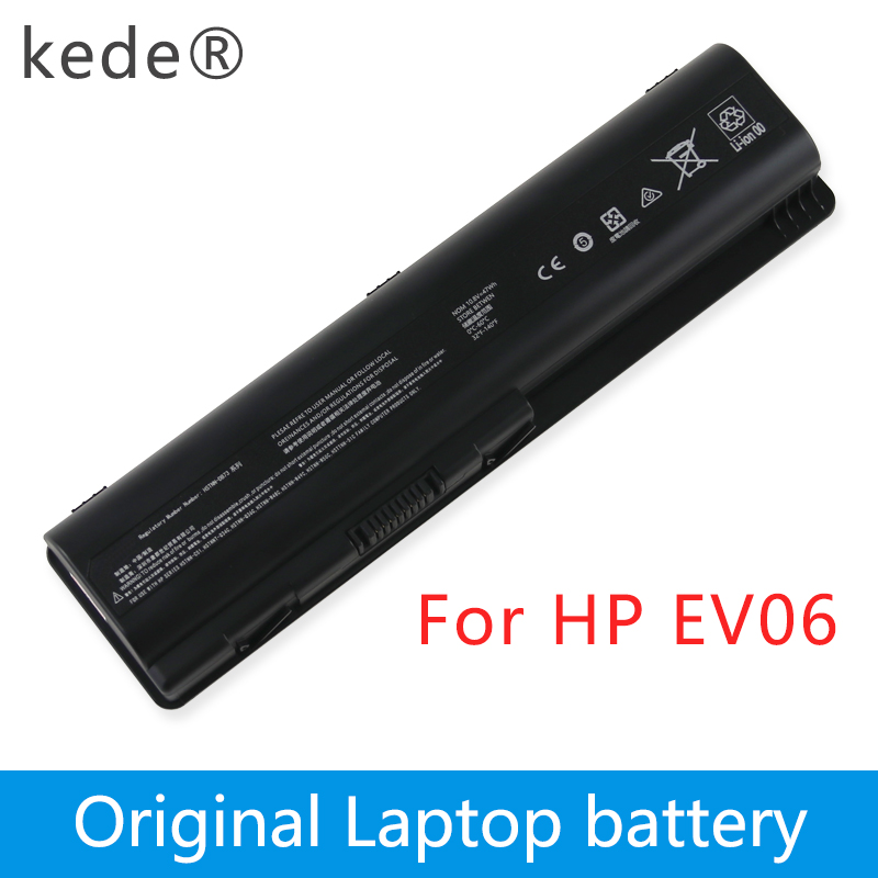 Kede EV06 Batterie pour HP Pavilion DV4 DV5 DV6 pour Compaq Presario CQ50 CQ71 CQ70 CQ61 CQ60 CQ45 CQ41 CQ40 HSTNN-LB73