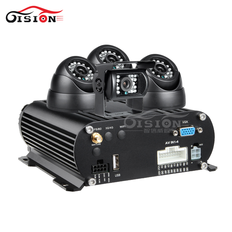 GPS HDD H.264 4CH AHD Hard Disk Vehicle Mobile Dvr Kits+3PCS Indoor Camera+1Piece Outdoor Camera+500GB Hard Disk Video RecorderGPS HDD H.264 4CH AHD Hard Disk Vehicle Mobile Dvr Kits+3PCS Indoor Camera+1Piece Outdoor Camera+500GB Hard Disk Video Recorder