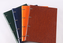 A4a5b5 Loose leaf Business Notebook Leather Creative Simple Office Notebook Can Be Customized Logo Core 2018 business office manager of leather multi function folder high grade leather a4 sales folders can be customized logo