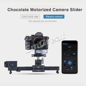 Image 4 - YC Onion Chocolate Motorized Camera Slider Aluminum Alloy Lightweight Portable for DSLR Mirrorless Camera Bluetooth APP Control