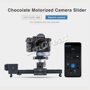 Image 4 - YC Zwiebel Schokolade Motorisierte Kamera Slider Aluminium Legierung Leichte, Tragbare für DSLR Spiegellose Kamera Bluetooth APP Control