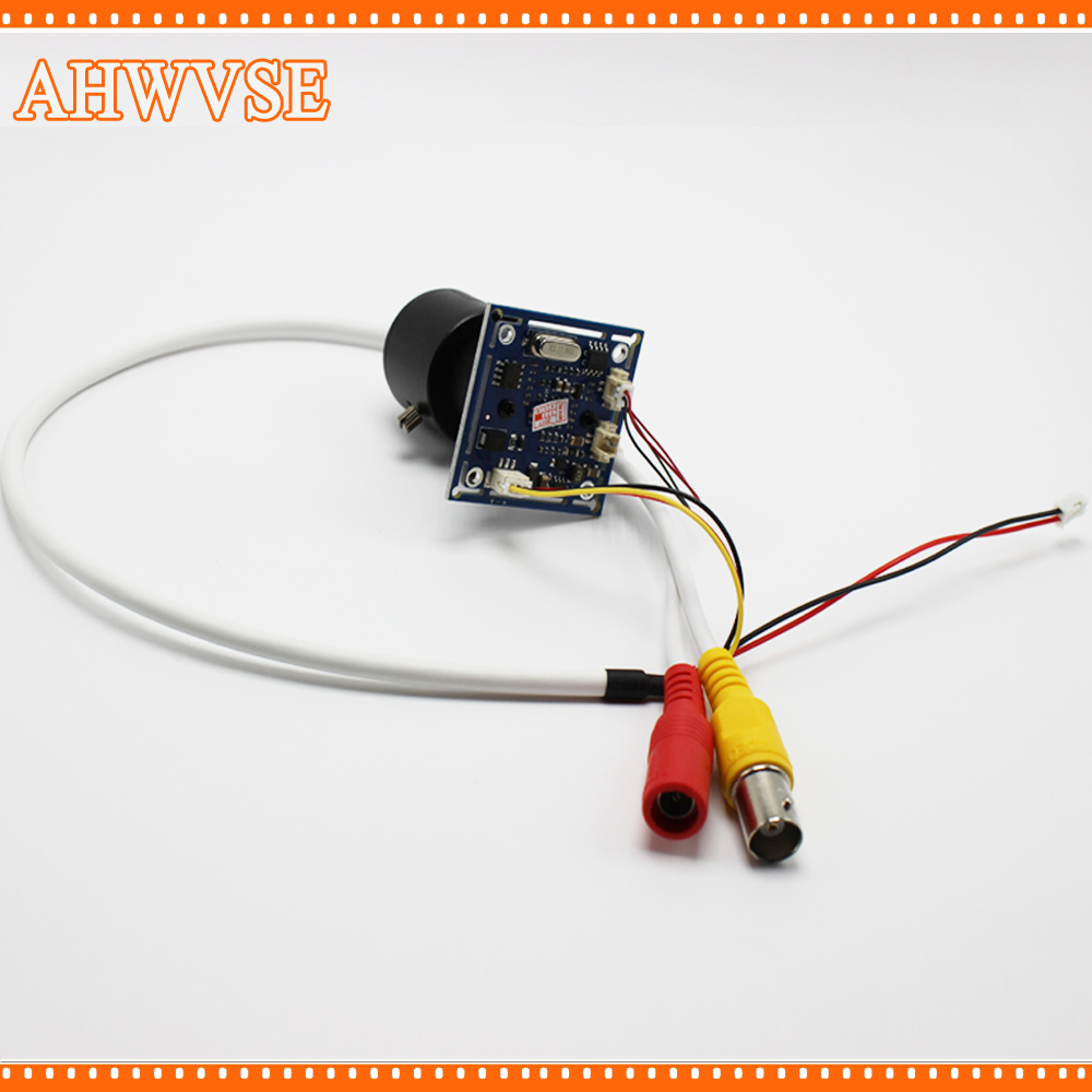 AHWVSE Wide View HD CCTV 1200TVL 2.8-12mm lens CCTV Camera module board with IR-CUT and BNC cable