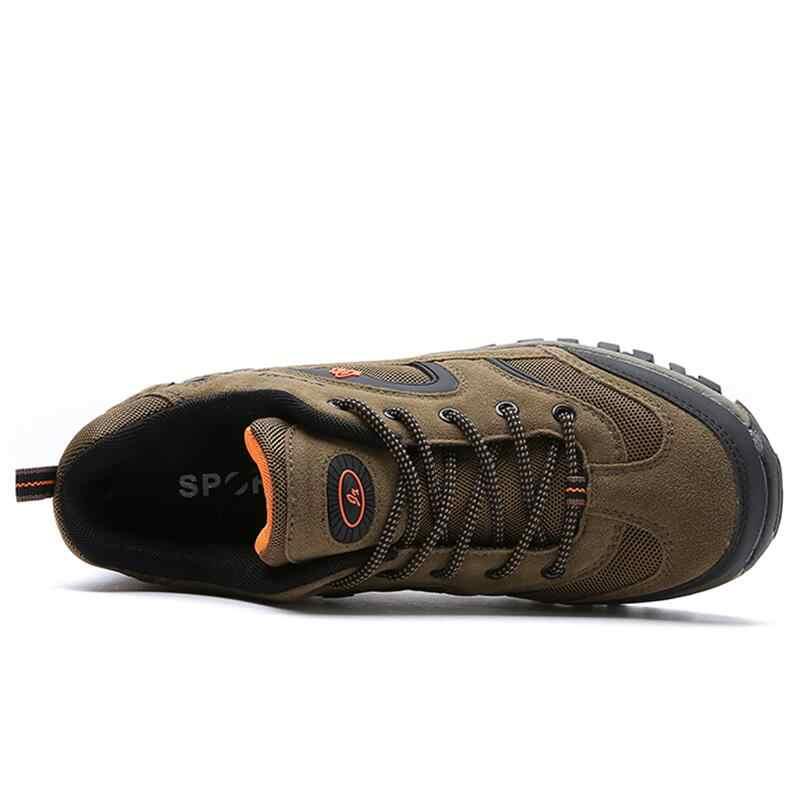 Vancat di Marca di Grande Formato 39-47 Degli Uomini di Modo Scarpe Comode Esterna Impermeabile Casual Scarpe Lace-Up Primavera Autunno scarpe Da Ginnastica di gomma
