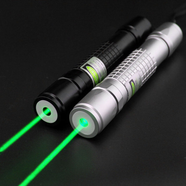 JSHFEI 200mW focusable green laser flashlight laser torch with star heads WHOLESALE LAZER 532NM LASER POINTER