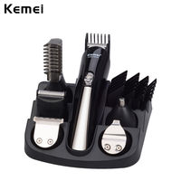 Original Professional Hair Trimmer 6 In 1 Hair Clipper Sets Electric Shaver Beard Nose Trimmer Hair