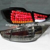 For Hyundai Avante I35 Elantra LED Tail Lamp 2011 2014 Year Smoke Black For Benz Style