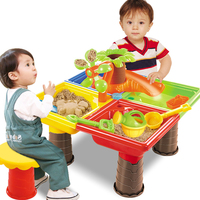 Water For Children Seaside Sandglass Play Outdoor Beach Toy Set Garden Digging Pit Desk Summer Bucket Kids Sand Table