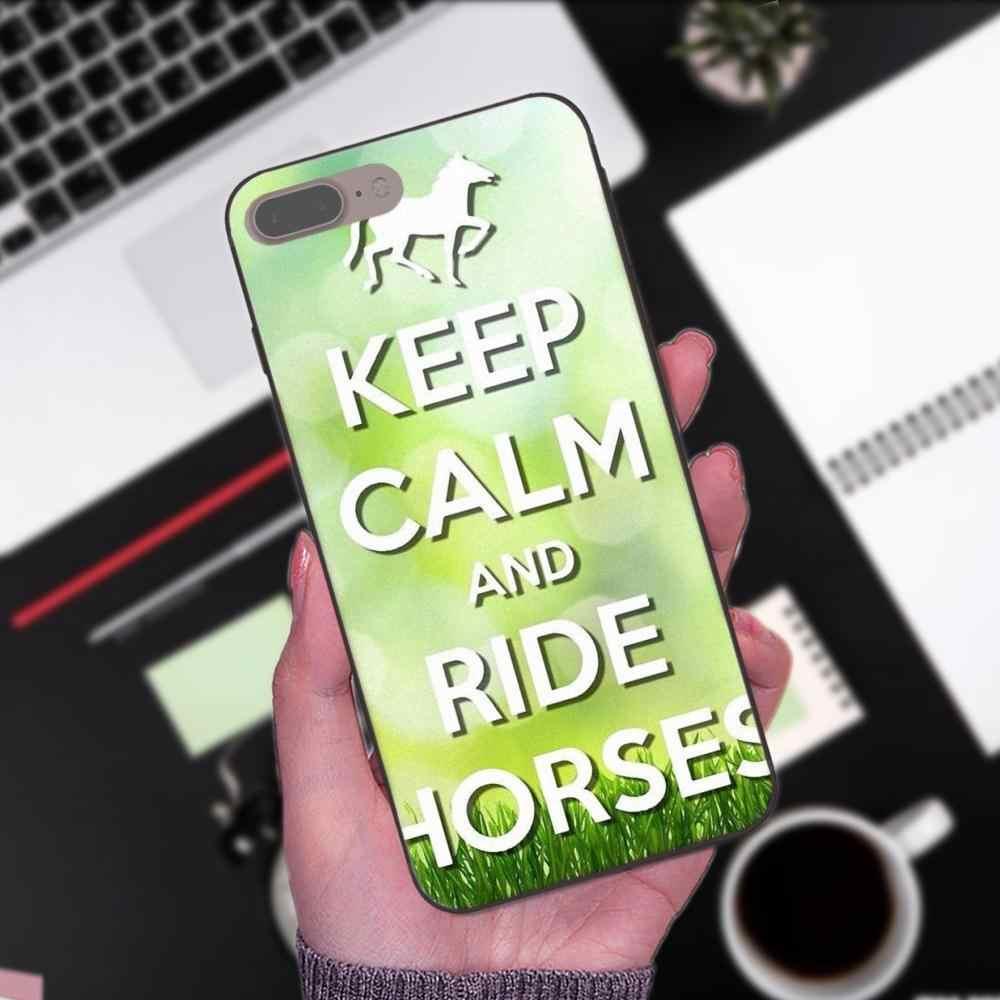2019 сохранять спокойствие и верхом на лошади Пони для samsung Galaxy I9080 Примечание 4, 8 9 S3 S4 S5 S6 S7 S8 S9 S10 Edge Plus Lite G313