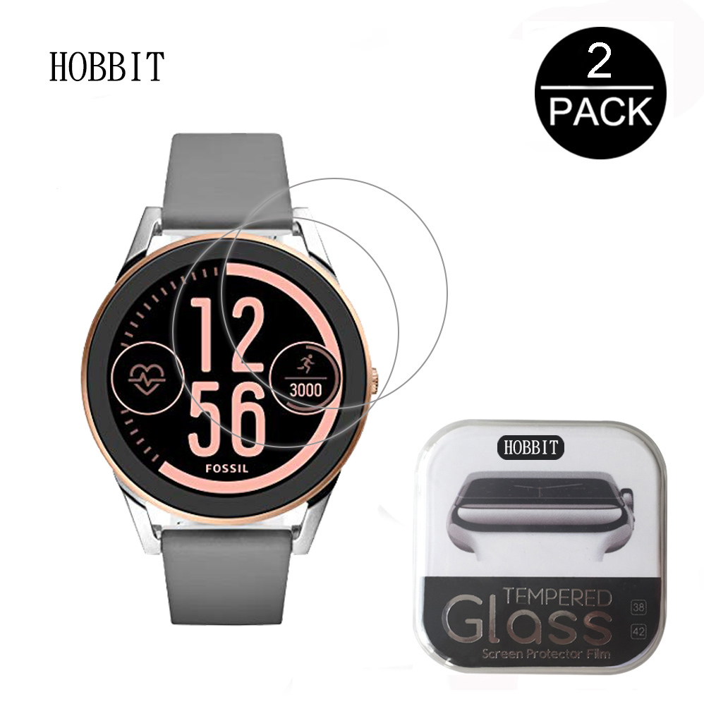 For Fossil Q Control Smart Watch 0.3mm 2.5D 9H Clear Tempere