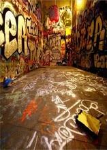 Graffiti Rua Hip Hop Fundos Fotografia Vinil Computer impresso cenário personalizado fundo de pano de Alta qualidade
