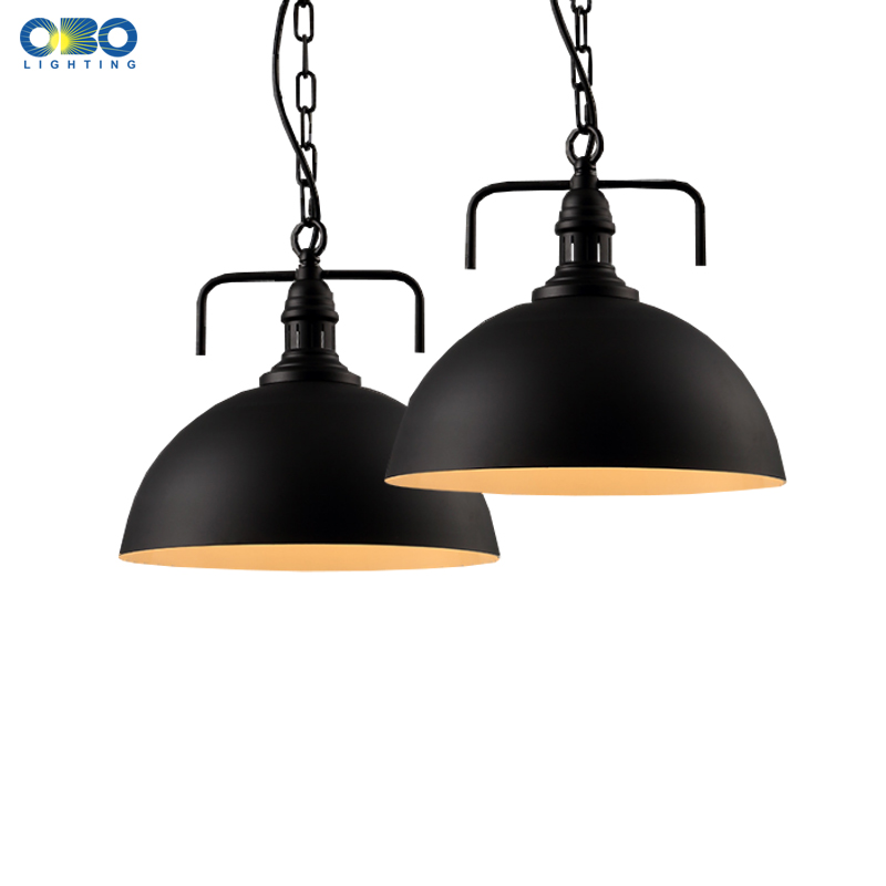 Vintage Iron Chian Pendant Lamp Painted Black/White Shade Coffee House Indoor Lighting E27 Lamp Holder 110-240V Cord 80CMVintage Iron Chian Pendant Lamp Painted Black/White Shade Coffee House Indoor Lighting E27 Lamp Holder 110-240V Cord 80CM